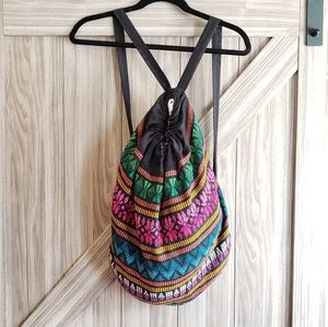 Handbags - Boho drawstring backpack